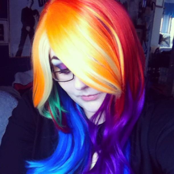 Rainbow Hair! by KatieAlves