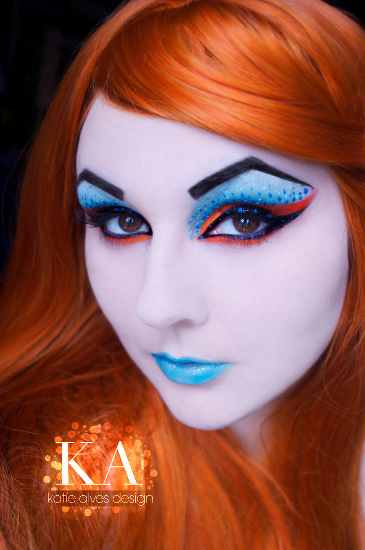Orange and Blue by KatieAlves