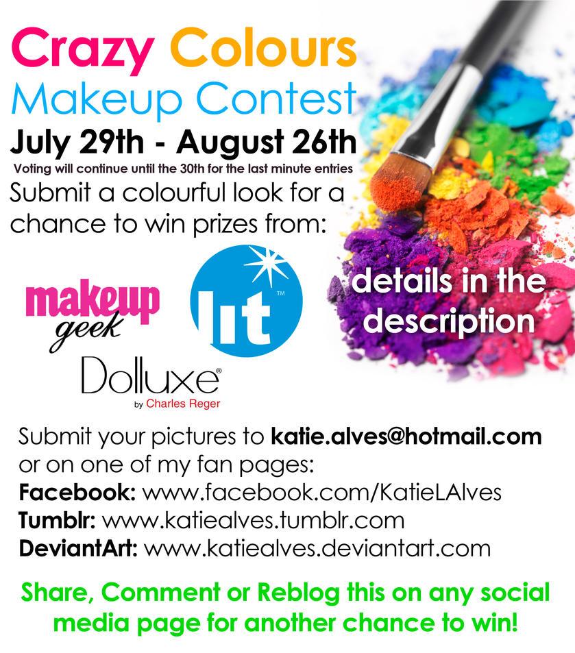 Crazy Colour Makeup Contest by KatieAlves