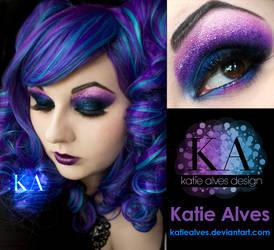 Purple Curls by KatieAlves
