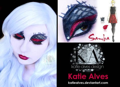 Pantone Inspired Makeup - Samba