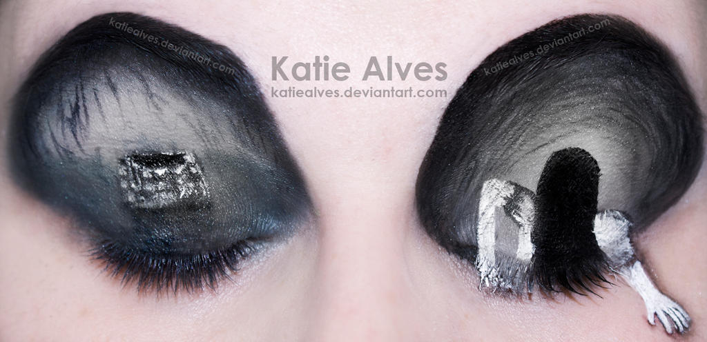 The Ring - Makeup Eyes by KatieAlves