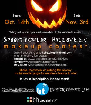 Spooktacular Makeup Contest