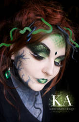 Medusa Makeup with Tutorial