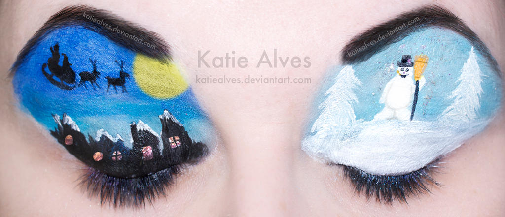Frosty the Snowman - Eyes by KatieAlves