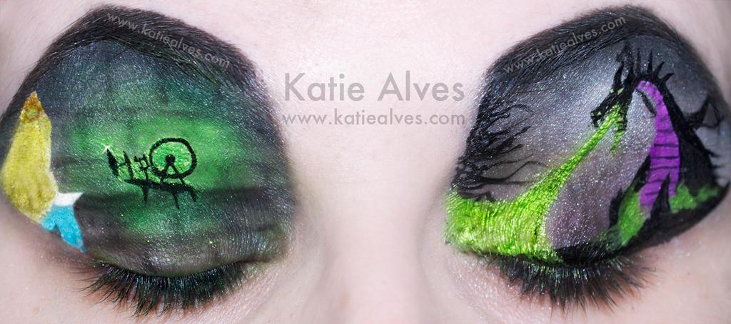 sleeping beauty eyes by katiealves on deviantart