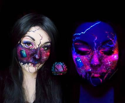 Doctor Who Black Light Makeup