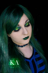 Green Makeup (With Tutorial) by KatieAlves