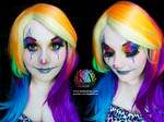 Sparkly Clown Halloween Makeup with Tutorial