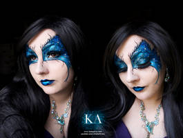 Dark Fairy with Tutorial by KatieAlves