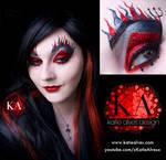 Devil Halloween Makeup (with Tutorial)