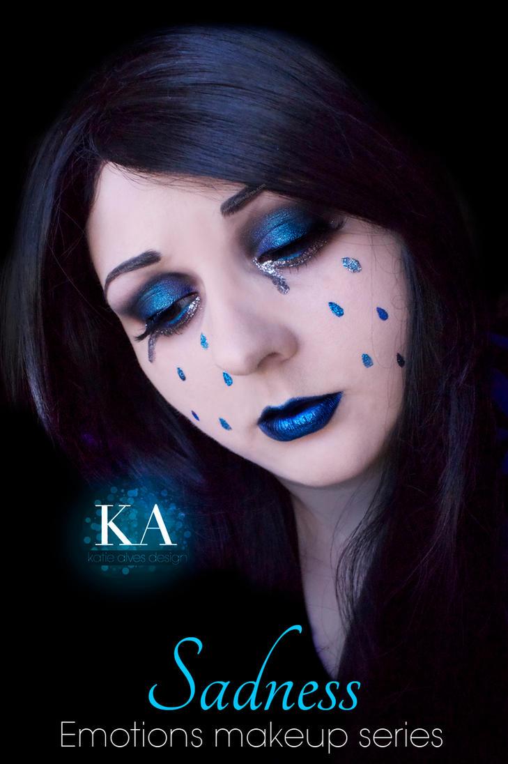 Emotions Makeup Series - Sadness by KatieAlves