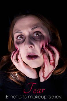 Emotions Makeup Series: Fear