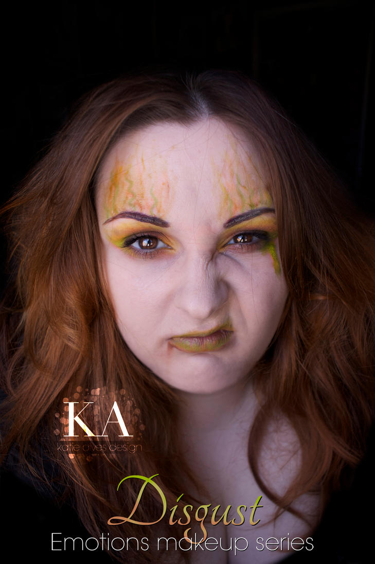 Emotions Makeup Series: Disgust by KatieAlves