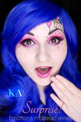 Emotions Makeup Series: Surprise! by KatieAlves