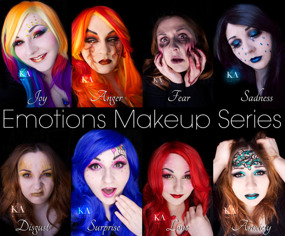 Emotions Makeup Series - Complete by KatieAlves