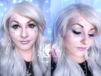 Angel Halloween Makeup (with Tutorial) by KatieAlves
