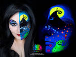Nightmare Before Christmas Black Light w/ tutorial