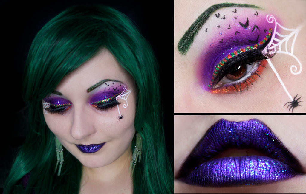 Halloween Inspired Makeup (with Tutorial) by KatieAlves