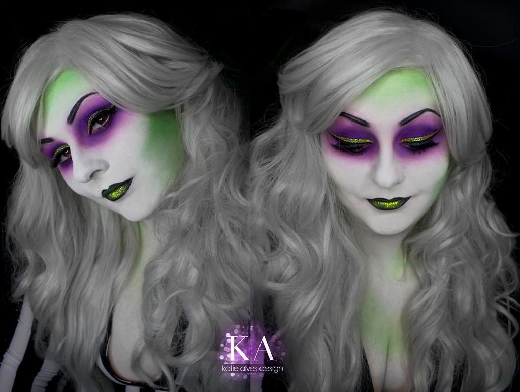 Lady Beetlejuice Makeup (with Tutorial) by KatieAlves