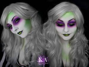 Lady Beetlejuice Makeup (with Tutorial)