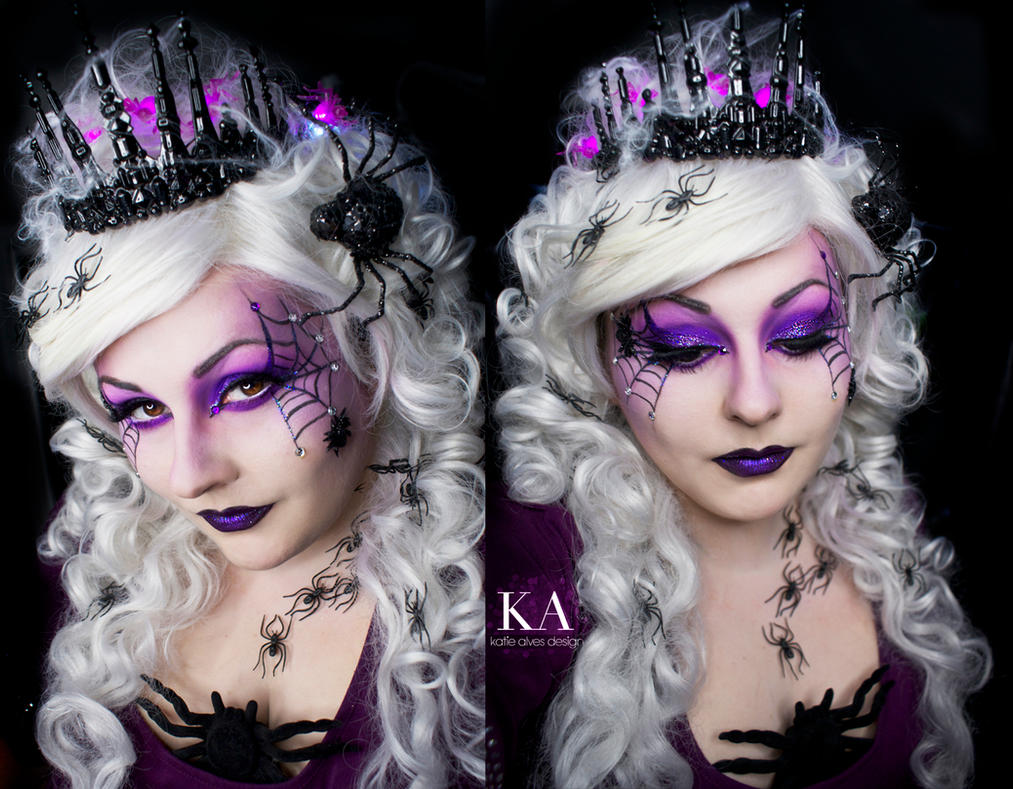 Spider Queen Makeup (with Tutorial) by KatieAlves