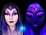 Alien Halloween Makeup w/ Tutorial