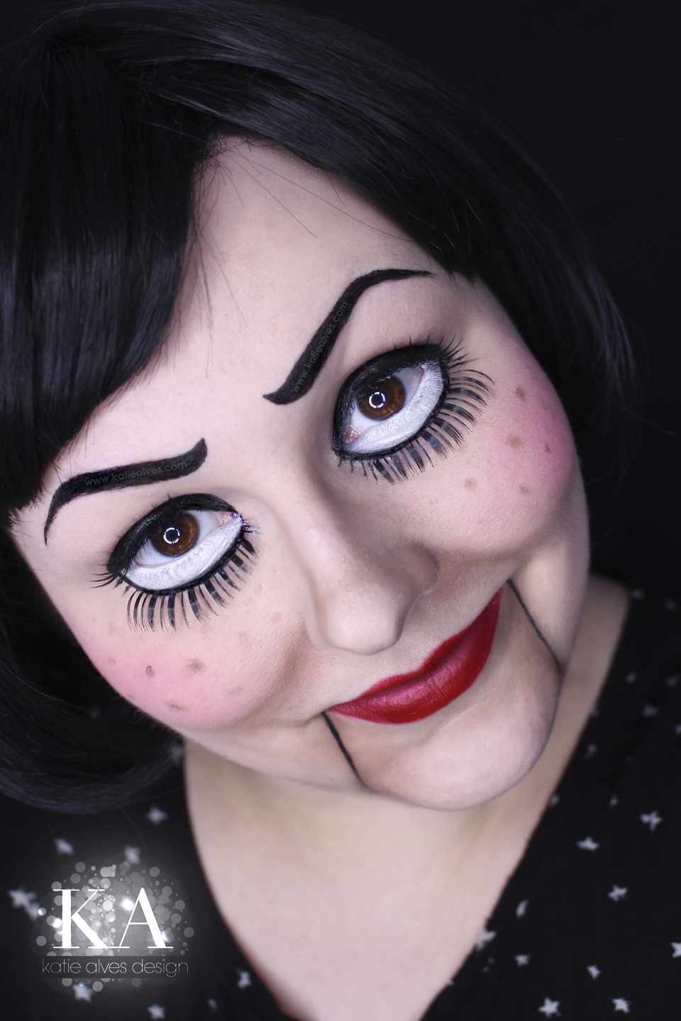 Marionette Halloween Makeup w/ Tutorial