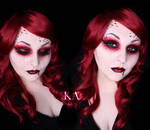 Vampire Halloween Makeup w/ Tutorial