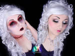 Marie Antoinette Halloween Makeup w/ Tutorial