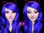 Glittery Cat Halloween Makeup w/ Tutorial