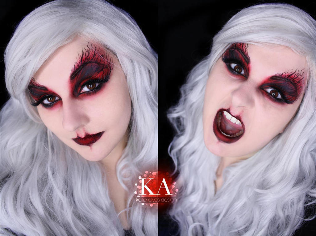 Banshee Halloween Makeup w/ Tutorial by KatieAlves on DeviantArt