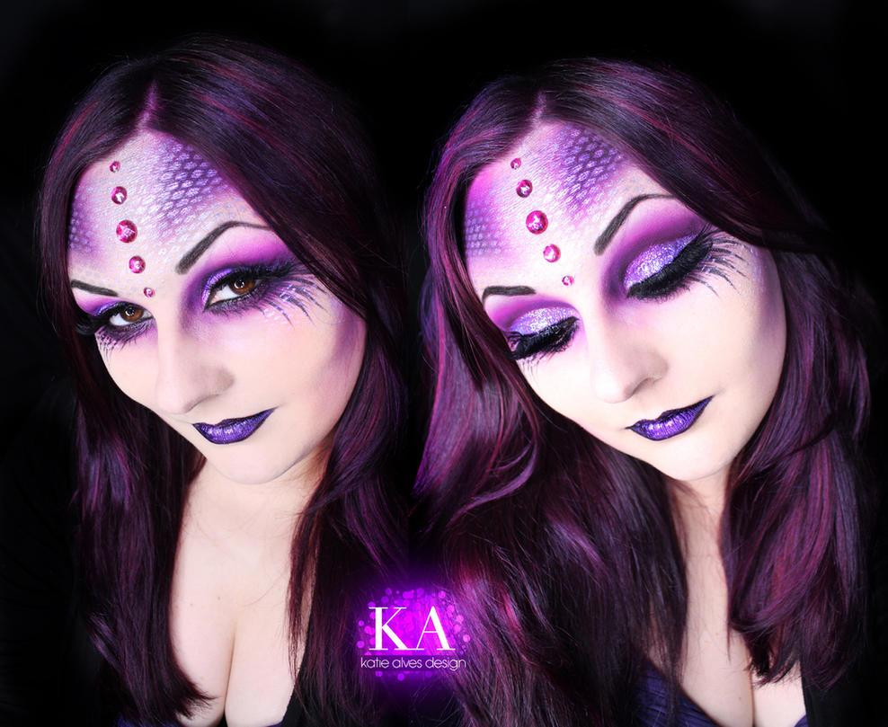 Sea witch halloween makeup w tutorial by katiealves on deviantart sea witch halloween makeup w tutorial by katiealves ccuart Images