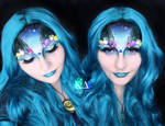 Mermaid Halloween Makeup w/ Tutorial