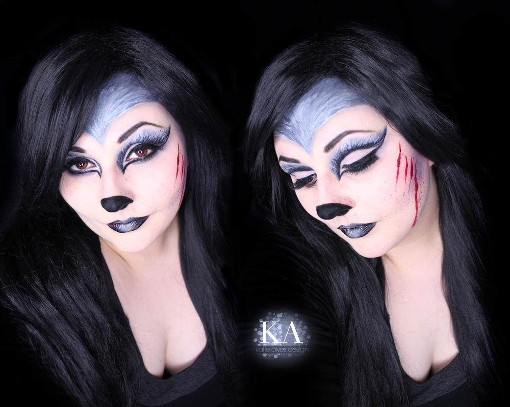 Big Bad Wolf Makeup Tutorial Katiealves Deviantart