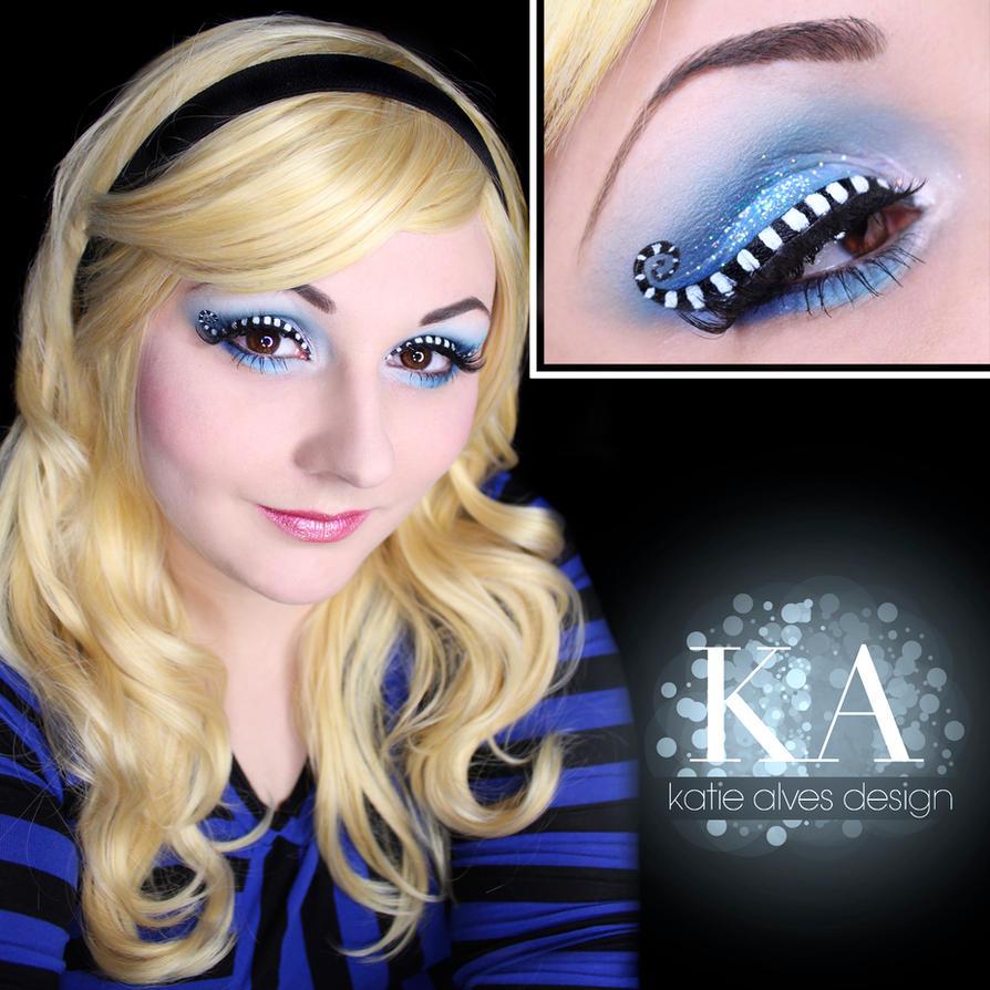 alice in wonderland makeup w tutorial by katiealves on