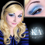 Alice in Wonderland Makeup w/ Tutorial