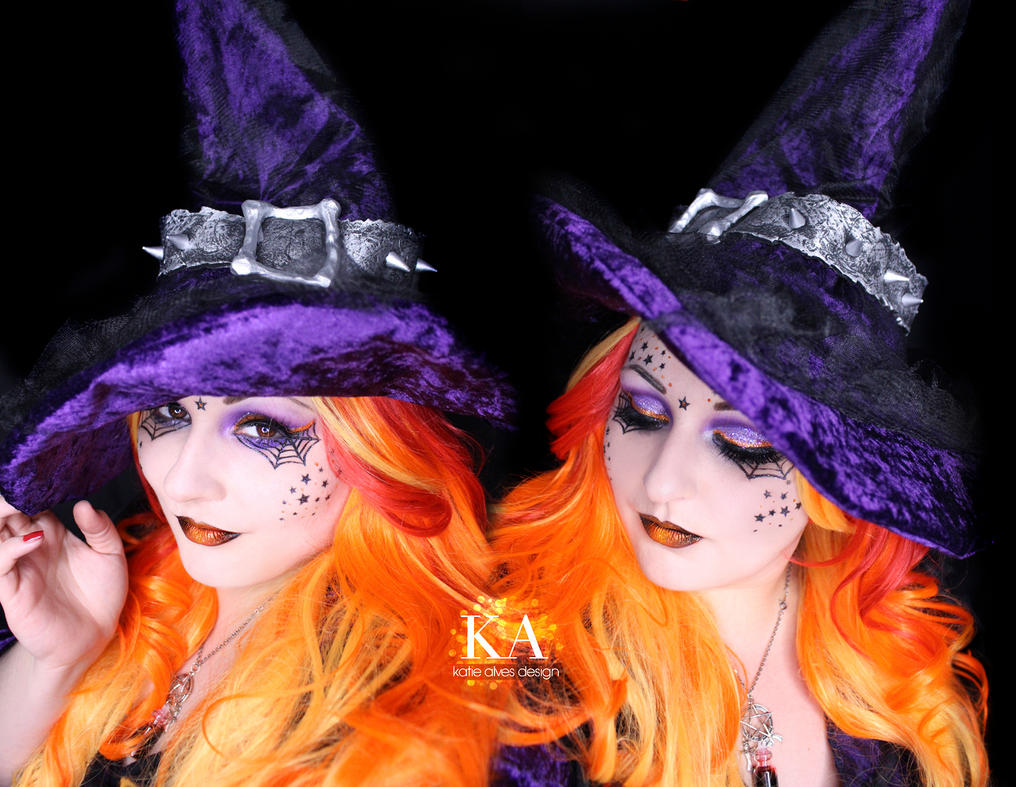 Witch halloween makeup w tutorial by katiealves on deviantart witch halloween makeup w tutorial by katiealves baditri Images