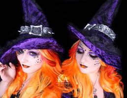 Witch Halloween Makeup w/ Tutorial