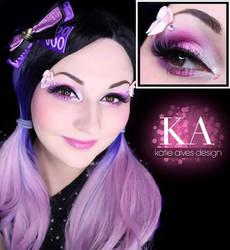 Cute Doll Makeup w/ Tutorial by KatieAlves