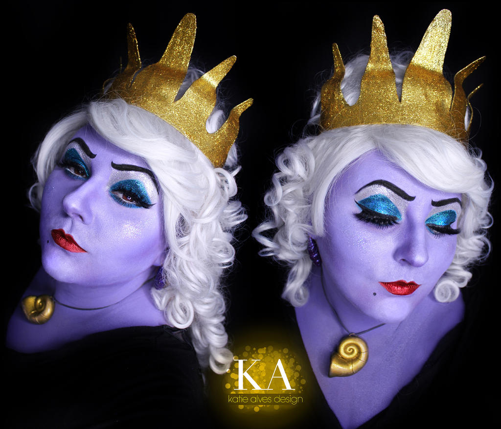 Ursula makeup tutorial