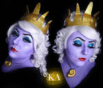 Ursula Makeup (with tutorial)