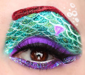 Ariel Eye Makeup by KatieAlves