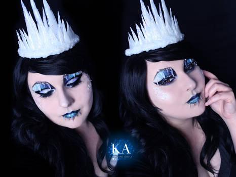 Ice Queen Halloween w/Tutorial