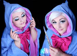 Fairy Godmother Makeup w/ Tutorial