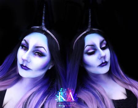 Dark Unicorn Halloween Makeup w/ Tutorial