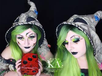 Oogie Boogie Makeup w/ Tutorial by KatieAlves