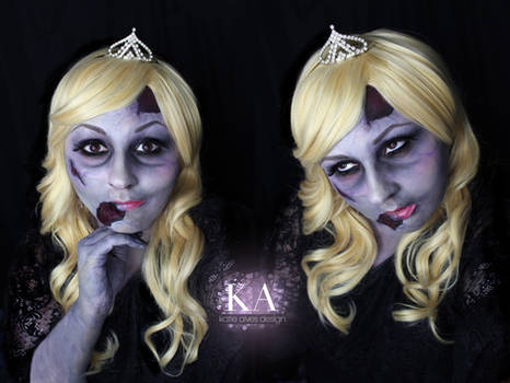 Zombie Princess w/ Tutorial