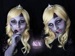 Zombie Princess w/ Tutorial by KatieAlves