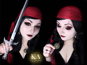 Pirate Makeup w/ tutorial by KatieAlves